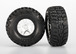 Reifen/Felgen Set S1 ultra-solft SCT Split-Spoke satin chrome black beadlock Kumho