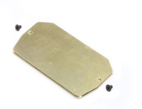 Brass Electronics Mounting Plate, 36g: 22 5.0