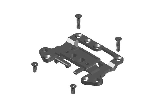 JR128-R01 Chassis Upper Front Part-