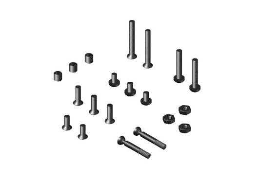 JR128-R01 Complete Set Metric & Special Screws For RTR-