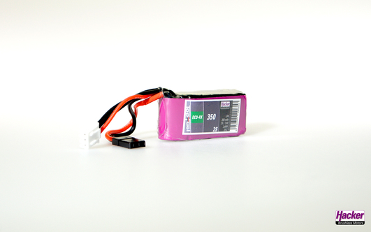 LiPo Pack TF ECO-RX 350mAh 2S