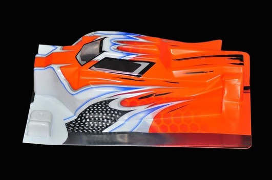 Serpent Karosserie 1/8 Offroad E-Avenger orange
